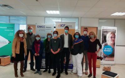 Présence à la MCTE d'ANGERS avec EMCC France